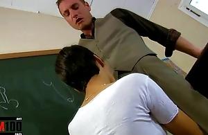 Jasmine Arabia &amp_ Leo Galvez anal sex in the classroom