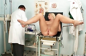 Vagina exam be advantageous to an attractive sexy blonde