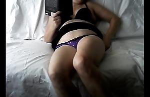 Tie the knot home alone masturbating caught on hiddencam