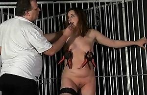 Amateur Slavegirl Jannas Ground-breaking Castigation