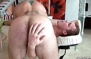 Deep anal penetrating massage 8 By GotRub