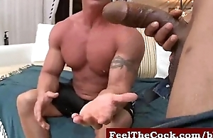 Monster Gloomy GAY cock going to bed straight guys video-15