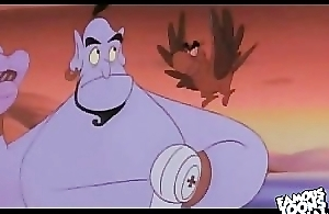Disney Porn video: Aladdin be wild about Jasmine