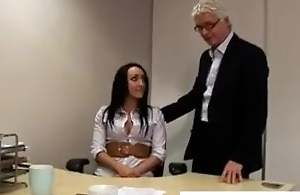 Horny incomprehensible secretary
