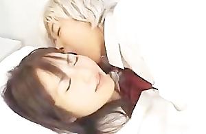 Japanese Lesbian Nuzzle 2