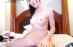 Hot Teen Nice Tits Gags On Dildo Part 3