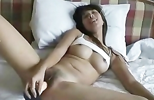 Young Asian fucked her hairy sweet bawdy cleft