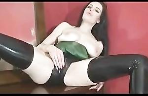 Samantha Bentley Almost Tight Green Latex