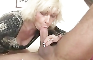 My blonde mommy on every side law seduces me into sex