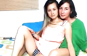 My wife and daughter web camera homemade show
