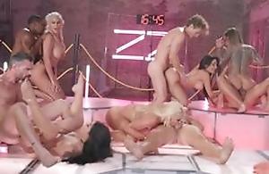 Massive fuckfest and hardcore porn fuckings