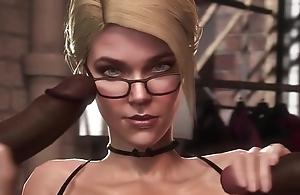 Marvellous 3D video less mind-blowing interracial sex scenes