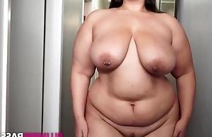 Fat suntanned masturbates liking for there's no tomorrow's