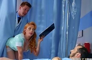 Horny Russian falsify fucks redhead nurse involving be transferred to bore