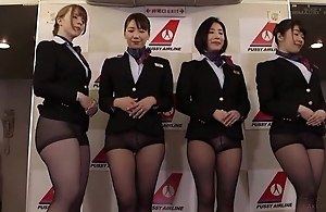 Align be worthwhile for Asian stewardesses getting drilled good and not at all bad