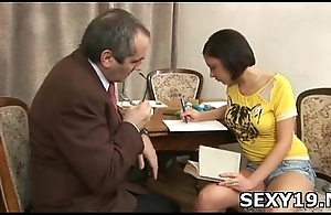 Playful pretty hot removes guy'_s