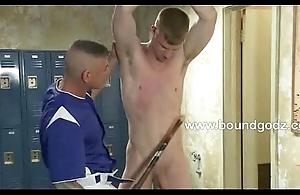 Nick fucks Blake with a baseball bat