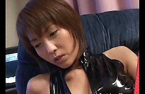 Painful cock tease and orgasm denial using heels