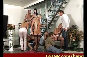Amazing sex party involving low-spirited dolls 6