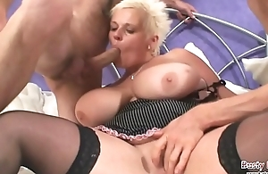 Big tits Keira Drawing Two Cock