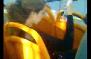 pajita en el bus chile