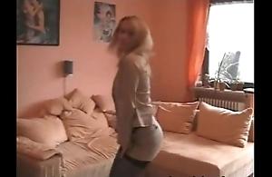 Secretary Strips Naked