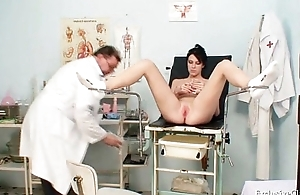 Busty spoil Rita eccentric gyno doctor catechism