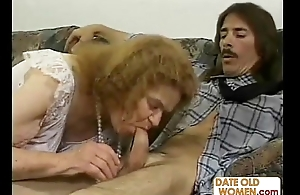 Granny Receives Some Raunchy Action