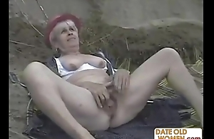 Old Adult Clip Like it Outside