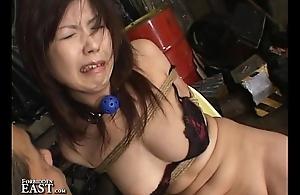 Well-shaped Amateur Japanese Bondage Sex