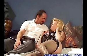 Ancient MILF Fucked by Sons Weary Friend