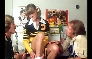 Cheerleader Threesome